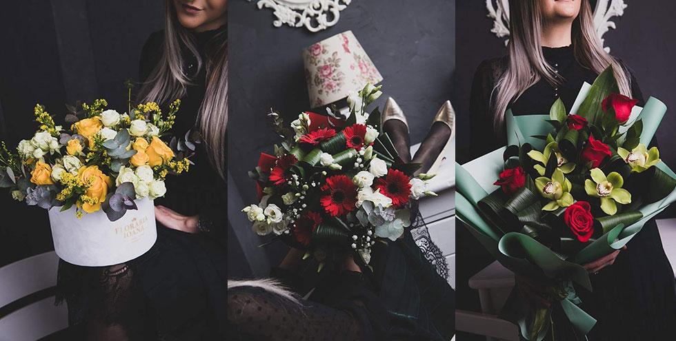 Buchete de flori pentru zile de naștere